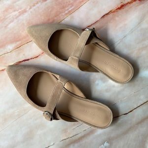 WITCHERY | Leather slip-on mules